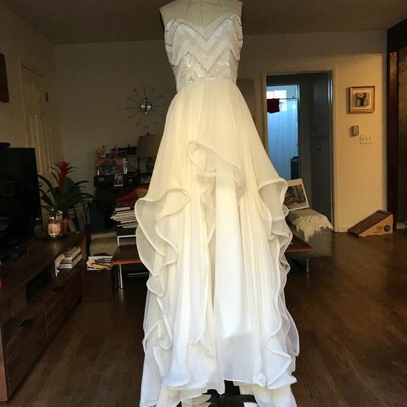 hayley paige Dresses   Charlie Designer Sequin Gown Sample   Poshmark